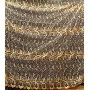 Ткань органза. Цвет Золото фото