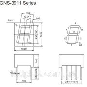 Индикатор GNS-3911BD-11 фото