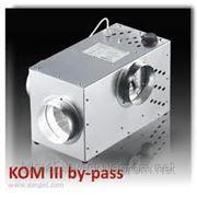Вентилятор каминный центробежный Dospel КОМ 400 III 125 BY PASS фото