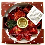 Подсвечник рождественский GIF1857 фото