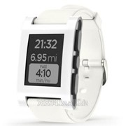 Часы Pebble Smart Watch для IPhone Android, цвет белый (White) фото