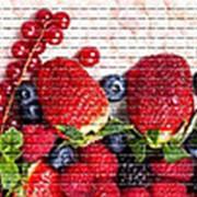 Панель ПВХ Спелые ягоды 957х480х0,3мм фото