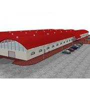 Строительство быстровозводимых зданий, Строительство быстровозводимых складов, ангаров фото