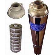 Скважинный насос Водолей БЦПЭУ 0,5 - 25 с внутренним кабелем фото