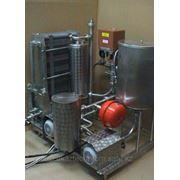 ПАСТЕРИЗАЦИИ И ОХЛАЖДЕНИЯ МОЛОКА (ПАСТЕРИЗАТОР) ПМР-0.2/2Вт с электрокотлом (производительностью 500 - 2000 фото