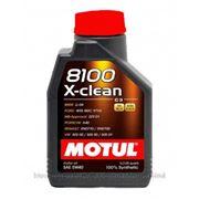 Motul 8100 X-clean 5W-40 - C3 1л фото