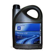 Полусинтетическое моторное масло GM Semi Synthetic 10w-40 5л. фото