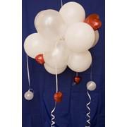 Оформление праздничных мероприятий, украшение помещений надувными шарами, фигурами, воздушные шары, сфера из шаров, заказать, Запорожье, Украина фото