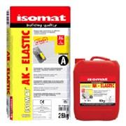 ISOMAT AK-ELASTIC (белый) 35 кг. Высококачественный 2-компонентный эластичный клей для плитки C2 E S2 фото