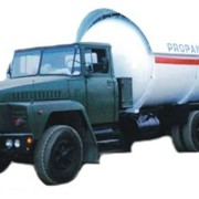 Автомобили для перевозки сжиженного газа фото