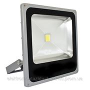 Прожектор светодиодный LL-275 1LED 50W 6400K 220V (27*28.5*7) Серебро IP66 фото