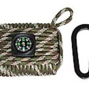 Набор выживания паракорд Paracord kit, woodland фото