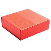 Коробка Joy Small раскладная на магнитах, красная фото