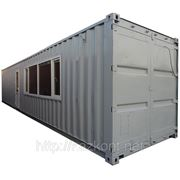 Контейнер утепленный,вагончик,бытовка 40 ф (лаборатория, жилой, офис) фото