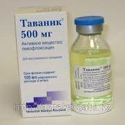 Таваник 500 мг/100 мл №1 р-р д/инф. фото