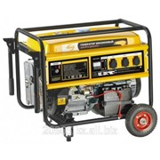 Генератор бензиновый GE 6900E, 5,5 кВт, 220В/50Гц, 25 л, электростартер// DENZEL фото