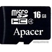 Карта памяти Apacer 16GB Class 4 без адаптера micro SDHC фото
