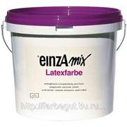 EinzA mix Latexfarbe (5 л.) Краска ПРЕМИУМ КЛАССА для стен и потолков. Шелк-блестящая. База (B) фото