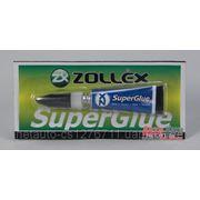 Zollex Супер клей SuperGlue 3г. фото