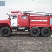 Автоцистерна пожарная АЦ-6-40 на шасси УРАЛ-5557 фото