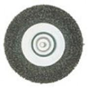 Щетка стальная 100 мм, круглая, грубая Код: 630551000 фото