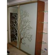 Пескоструйная обработка стекла или зеркала фото