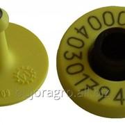 Бирка ушная электронная для КРС круглая HDX Button- Унибокс, ДеЛаваль фото