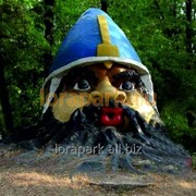 Скульптура Голова Витязя 2 фото