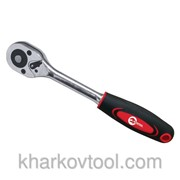 Рукоятка (трещотка) с храповым механизмом на 45 зубов 3/8 Проф. Intertool HT-2118
