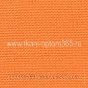 Габардин тонкий Оранжевый фото