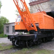 Кран железнодорожный дизель электрический КЖДЭ-25 фото