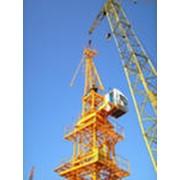 Монтаж башенных кранов и перебазировка по территории Украины. фото