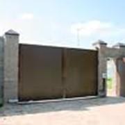 Ворота промышленные распашные продажа, опт Украина фото