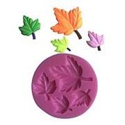 Кондитерские молды Клен листья фото