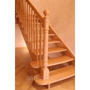 Лестницы деревянные межэтажные фото
