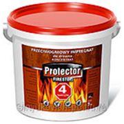 Антипожарная пропитка для дерева (Польша) - FIRESTOP КОНЦЕНТРАТ 1:4, 5кг коричневая фото