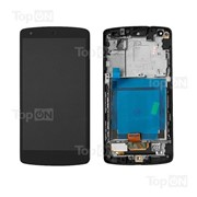 Матрица и тачскрин (сенсорное стекло) в сборе для смартфона LG Nexus 5 фото