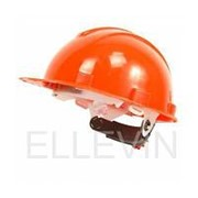 Каска защитная для строительно-монтажных работ с храп. механизмом Оранжевая ЮНОНА+ фото