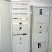 Установка щитов автоматического управления энергоснабжением фото