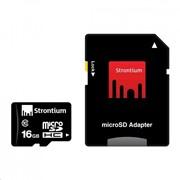 Карта памяти STRONTIUM Flash 16G microSDHC Class 10 (SR16GTFC10A) фото