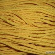Шнур 2ж 4мм, 200м желт 506 фото