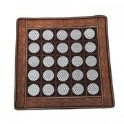 Нефритовый коврик - квадрат большие камни, 43х43 см фото