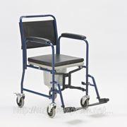 """Инвалидная коляска с санитарным оснащением модель H032B """"Армед"""" фото"""