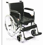Инвалидное кресло с санитарным оснащением модель H005B фото