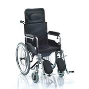 Люксовое инвалидное кресло с санитарным оснащением модель H009B фото