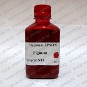 Чернила Epson пигментные пурпурные фото