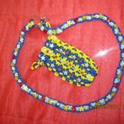 Эксклюзивная ручная работа-плетенный чехол для сотки фото