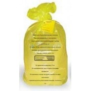 Пакет для утилизации медицинских отходов 900*1300мм, 220л Класс Б, 25мкм (100шт/рул) фото