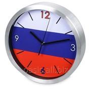 Часы настенные Российский флаг фото