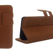 Чехол Soft Feel Leather Brown [Чехлы для iPhone 5/5s] фото